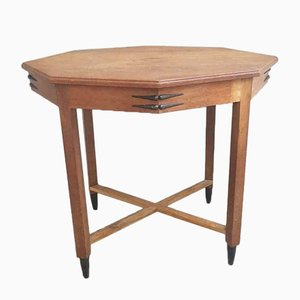 Art Deco Haagse School Table, 1920s