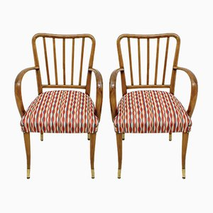 Mid-Century Modern Italian Lounge Chairs by Paolo Buffa, 1950s, Set of 2