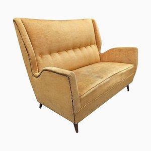 Kleines 2-Sitzer Sofa von Gio Ponti, 1950er