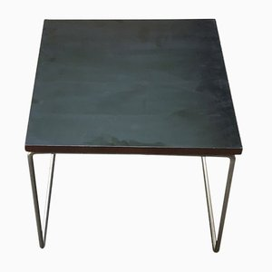 Tavolino da caffè modello Volante Mid-Century nero di Pierre Guariche per Steiner, anni '50