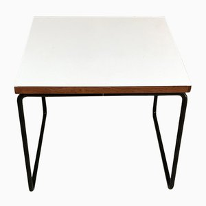 Mid-Century White Model Volante Coffee Table by Pierre Guariche for Steiner, 1950s