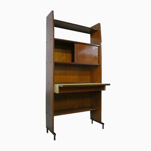 Italian Bookcase with Removable Desk and Storage from Officina di Ricerca, 1960s