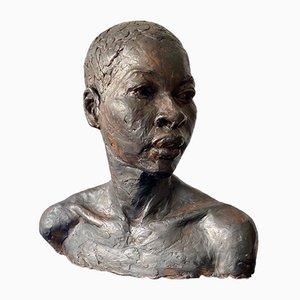 Sculpture de Buste Féminin, 2000s