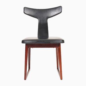 Chaise d'Appoint Mid-Century en Palissandre par Helge Sibast pour Sibast, Danemark, 1960s