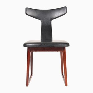 Mid-Century Danish Rosewood Side Chair by Helge Sibast for Sibast, 1960s