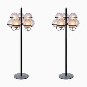 1094 Floor Lamps by Gino Sarfatti for Arteluce, 1960s, Set of 2