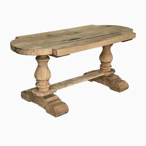 19th Century French Oak Farmhouse Coffee Table