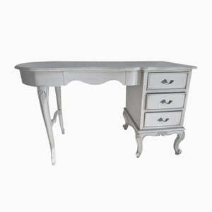 Vintage French Rustic Dressing Table, 1950s