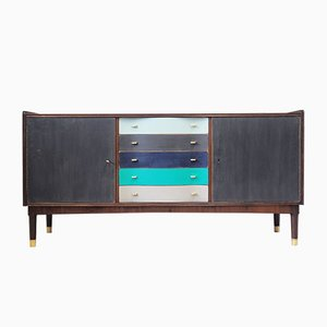 Vintage Danish Walnut Sideboard, 1970s