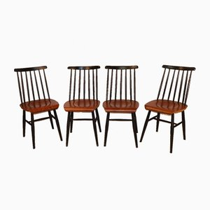 Dining Chairs by Ilmari Tapiovaara, 1960s, Set of 4