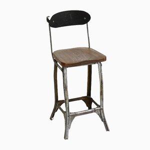Vintage TanSad Fabrikarbeiter Stuhl, 1950er
