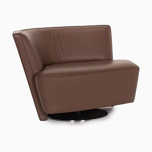 Brown Leather Drift Armchair by EOOS Design for Walter Knoll