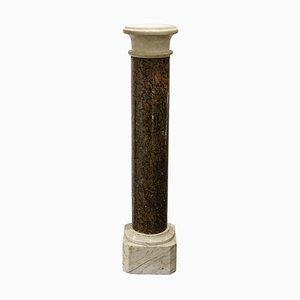 Column in Red and White Marble, 1880s