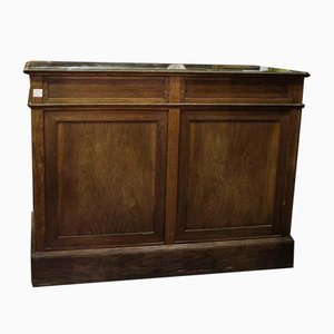 Italienischer Kurzwarenhandel Ladentisch aus Eiche, 1920er