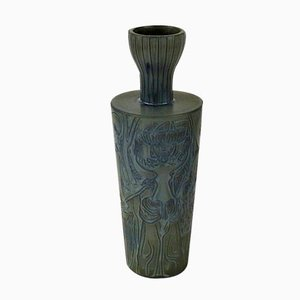 Grand Vase Vintage par Stig Lindberg pour Gustavsberg, 1941