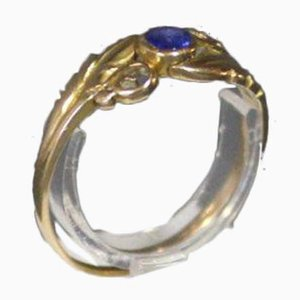 14k Gold Ring with Sapphire