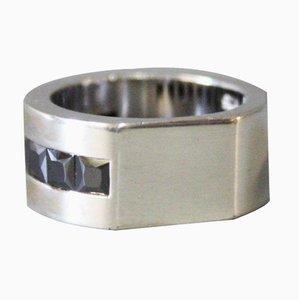 925 Sterling Silber Ring mit Onyx Stein von Dyrberg Kern