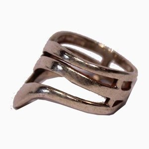Large Wide Ring in 925 Sterling Silver