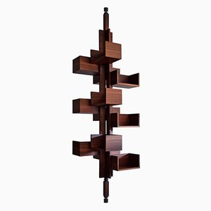 Mid-Century Rosewood Albero Bookmill by Gianfranco Frattini for Poltrona Frau, 1955