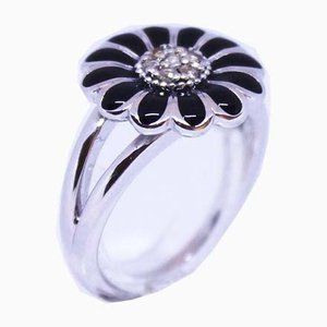 925 Sterling Silver Back Daisy Ring by Christina Smykker