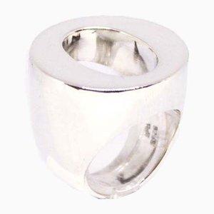 Kräftiger Ring aus 925er Sterlingsilber von H & H