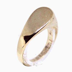 Anello in oro 14kt con design semplice