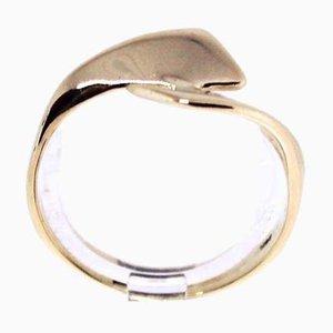 Anello in oro 14 kt con design semplice