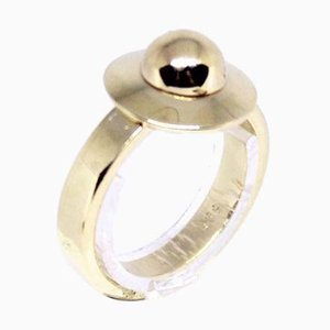 14kt Gold Ring Decorated with Gold Beads