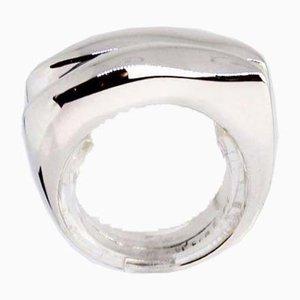 Simple 925 Sterling Silber Ring von Ja