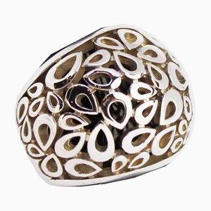 925 Sterling Silver Wide Ring from Quina