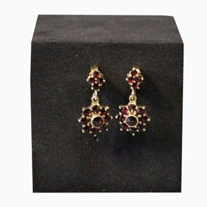 Studs with Shells and 925 Gold-Plated Silver, Set of 2
