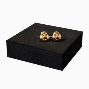 14kt Gold Studs, Set of 2