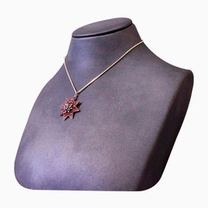 Gold-Plated Chain with Pomegranate Pendant
