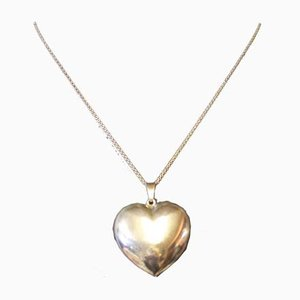 Pendant in the Shape of a Heart in 830 Silver by ET