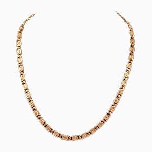 18 Karat Überzogene Halskette