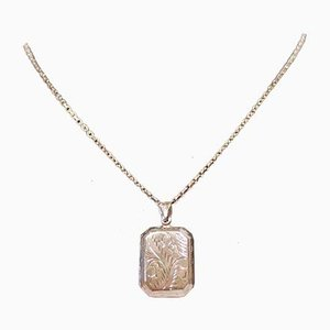 Necklace Locket in 925 Sterling Silver