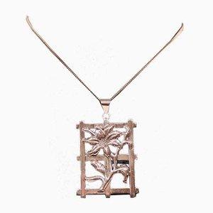 Große Halsketten-Anhänger in 830 Silber von CHR. V