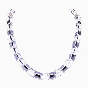 Collana lunga in argento sterling 925