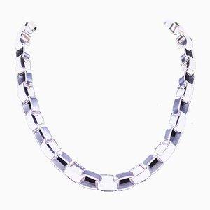 Lange Halskette aus 925er Sterlingsilber
