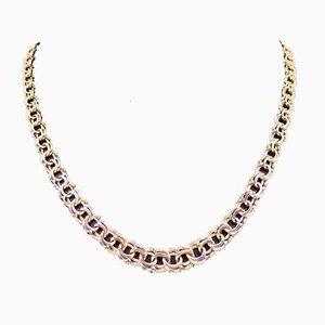 Collar Bismark de oro de 18 quilates de CGAB