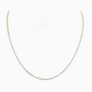 Round Anchor Chain in 14k Gold