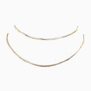 Venezia Halskette in 14 Karat Gold