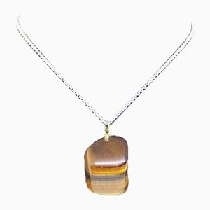 Tiger Eye collier pendentif