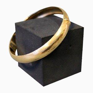 Armband aus 14 Karat Gold mit Scherung