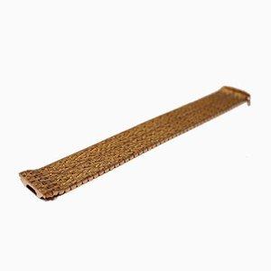 Large Bracelet en Or 18 Carats de CJ, Italie