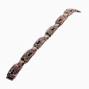 830 Silver Wide Bracelet No. 122