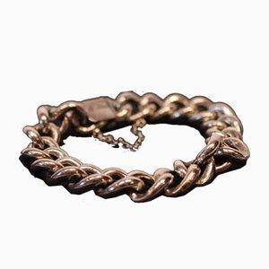 Wide Bracelet in Sterling Silver