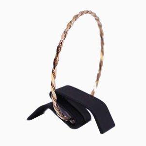 Bracelet Poli Facetté en Or 8 Carats