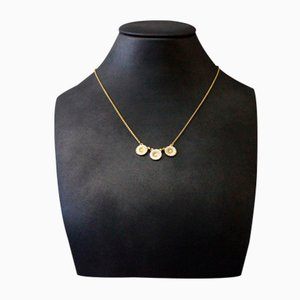 Lund Daisy Necklace in Gold-Plated 925 Sterling Silver