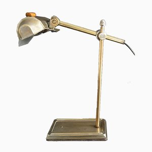 French Art Deco Gold Table Lamp from Pirouett, 1930s